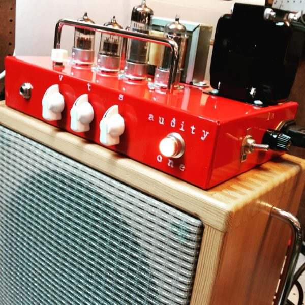Red Audity One Recording Amplifier