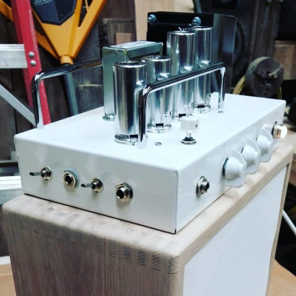 White Audity One Recording Amplifier