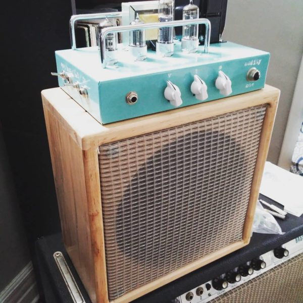 Turquoise Audity One Recording Amplifier