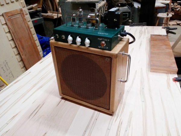 Curious Audity Recording Amplifier
