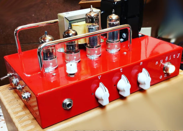 Red Audity One Recording Amplifier Head