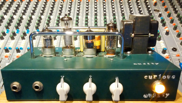 Green Audity One Recording Amplifier Head